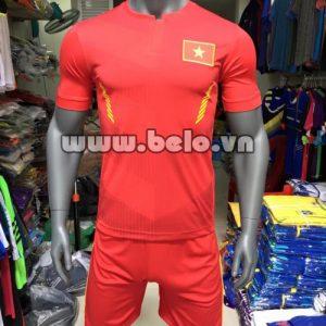 Áo bóng đá đội tuyển Việt Nam sân nhà đỏ 2016-2017