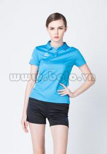 Áo bóng chuyền nữ xanh ngọc PN 07 mới nhất