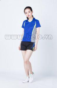 Bộ bóng chuyền nữ xanh dương pha Ghi mã PN 08