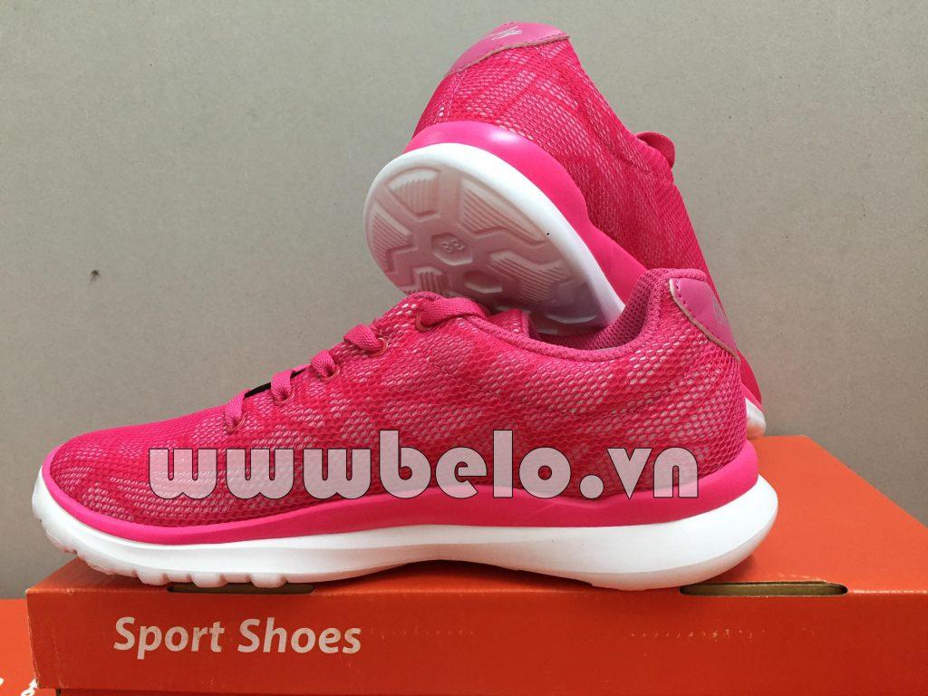 Giày chạy bộ Prowin nữ Windy RS04 hồng nữ tính !