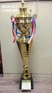 Cúp thể thao Belo-017 hợp kim mạ vàng