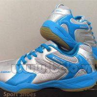 Giày bóng chuyền Kawasaki K-613 bạc pha xanh ngọc cao cấp !