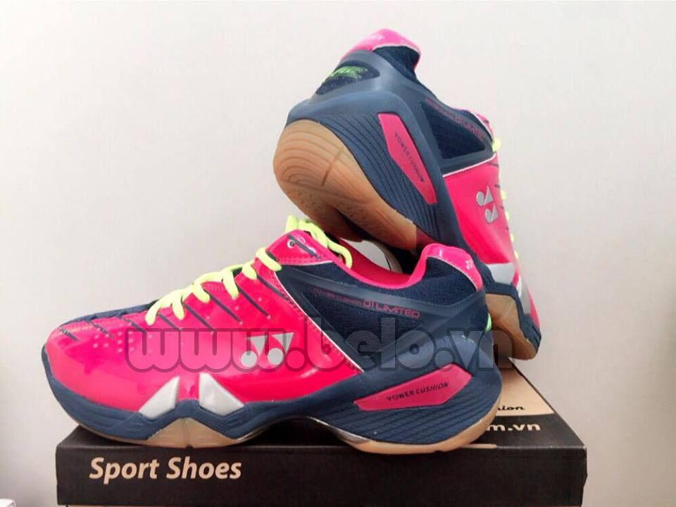 Giày bóng chuyền Yonex đen hồng cao cấp