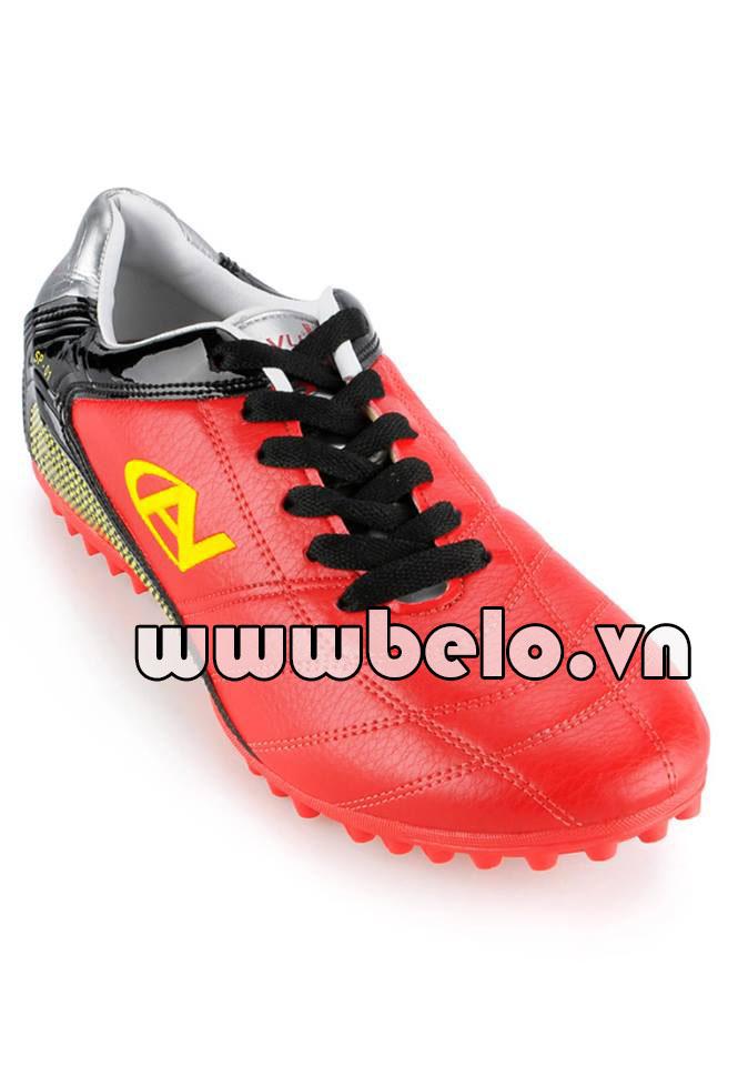 Giày đá bóng coavu 01 màu đỏ chính hãng