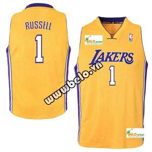 Đồng phục quần áo bóng rổ BR009 vàng nhạt