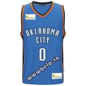 Đồng phục quần áo bóng rổ BR002 xanh bích đậm
