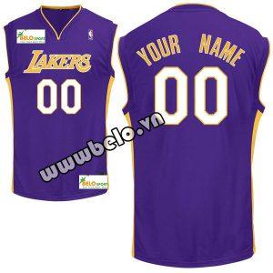 Đồng phục quần áo bóng rổ BR091 tím