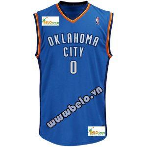 Đồng phục quần áo bóng rổ BR011  xanh bích