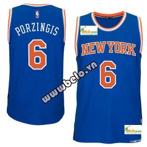 Đồng phục quần áo bóng rổ BR015 xanh dương cam