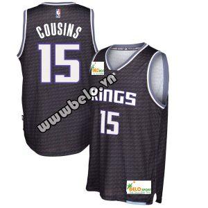 Đồng phục quần áo bóng rổ BR017 đen xám