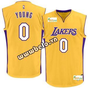 Đồng phục quần áo bóng rổ BR085 vàng
