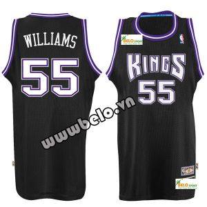 Đồng phục quần áo bóng rổ BR084 đen