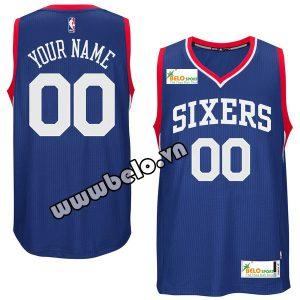 Đồng phục quần áo bóng rổ BR083 xanh