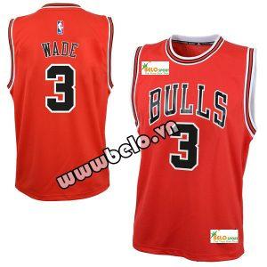 Đồng phục quần áo bóng rổ BR079 đỏ