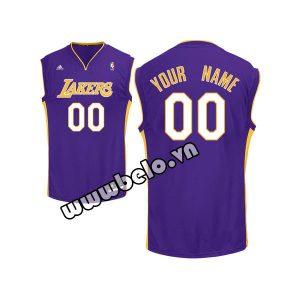 Đồng phục quần áo bóng rổ BR076 tím
