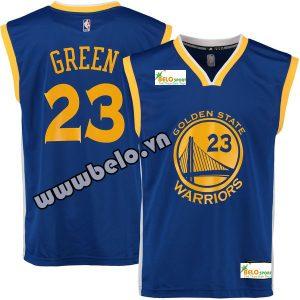 Đồng phục quần áo bóng rổ BR075 xanh