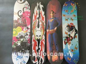 Ván trượt skateboard gỗ mặt nhám loại lớn