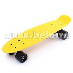 Ván trượt Skateboard Plastic ABS nhập khẩu cao cấp màu vàng