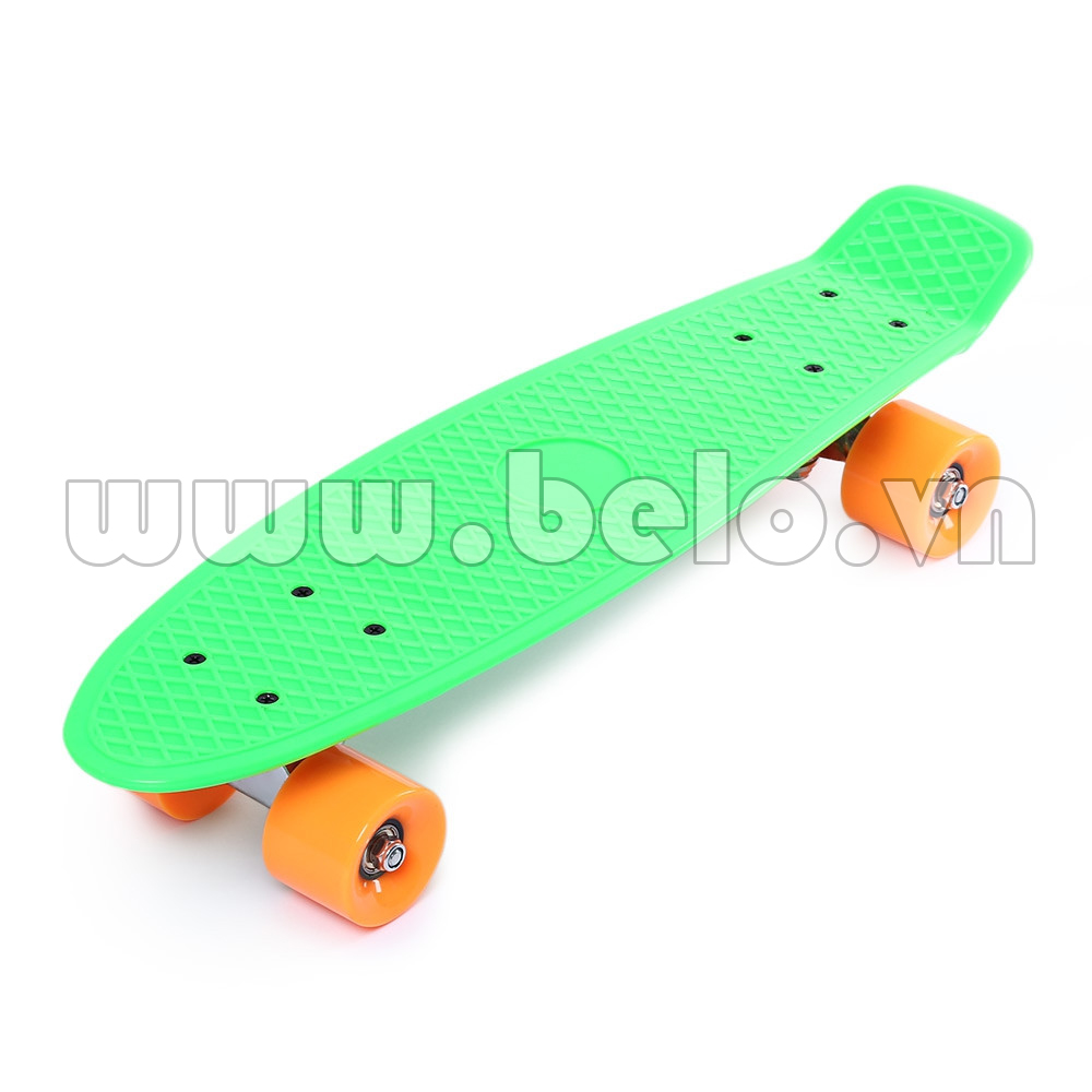 Ván trượt Skateboard Plastic ABS nhập khẩu cao cấp màu xanh lá