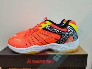 Giày bóng chuyền Kawasaki 2017 chính hãng -K601 màu cam