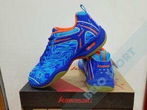 Giày bóng chuyền Kawasaki 2017 chính hãng-k137 xanh