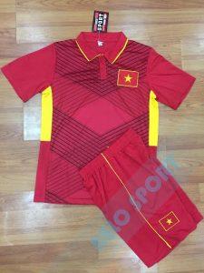 Áo bóng đá đội tuyển Việt Nam đỏ 2017-2018