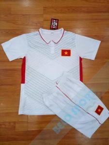 Áo bóng đá đội tuyển Việt Nam trắng  2017-2018