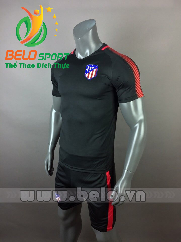 Áo bóng đá CLB Aclectico 2017-2018 màu đen