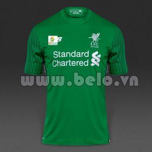 Áo bóng đá câu lạc bộ liverpool xanh