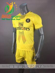 Áo bóng đá CLB  Paris Saint -Germain 2017-2018  màu vàng