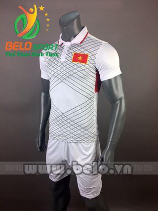 Áo bóng đá đội tuyển Việt Nam 2017-2018 màu trắng