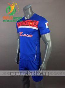 Áo bóng đá đội tuyển Việt Nam 2017-2018 màu xanh đỏv