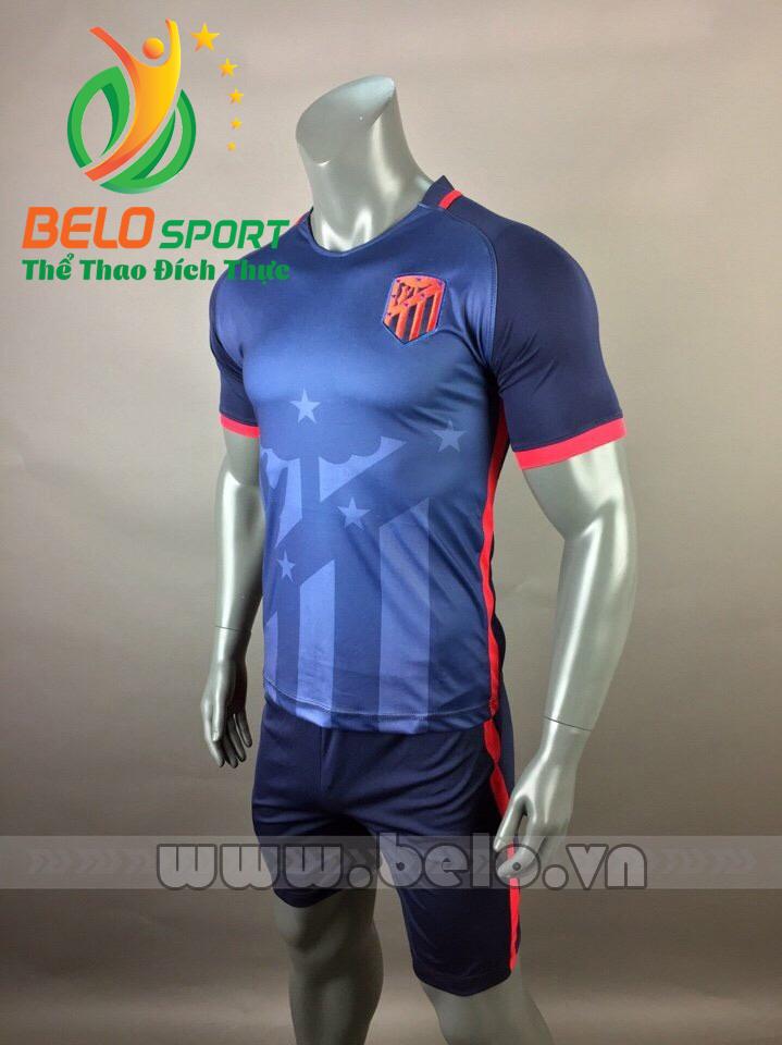 Áo bóng đá CLB Atletico 2017-2018 màu xanh