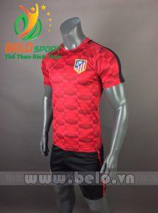 Áo bóng đá CLB Atletico 2017-2018 màu đỏ