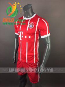 Áo bóng đá CLB bayern munich 2017-2018 màu đỏ