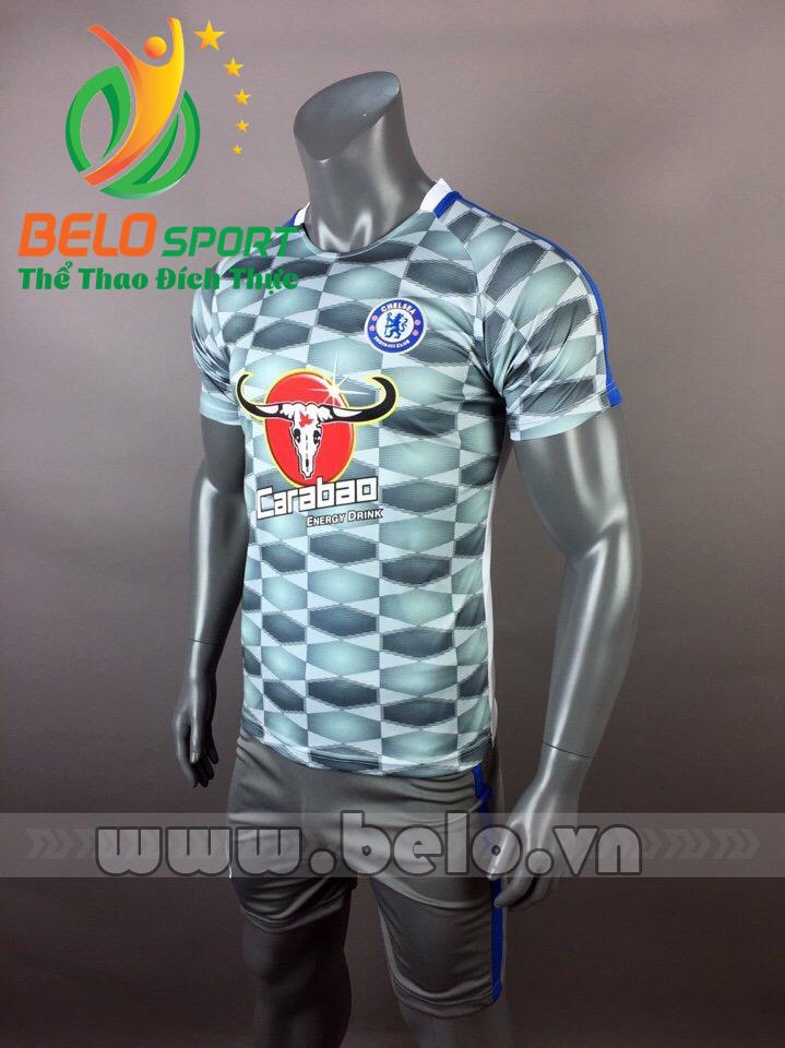 Áo bóng đá CLB Chelsea  2017-2018 màu xanh