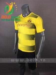 Áo bóng đá CLB Dortmund 2017-2018 màu vàng xám