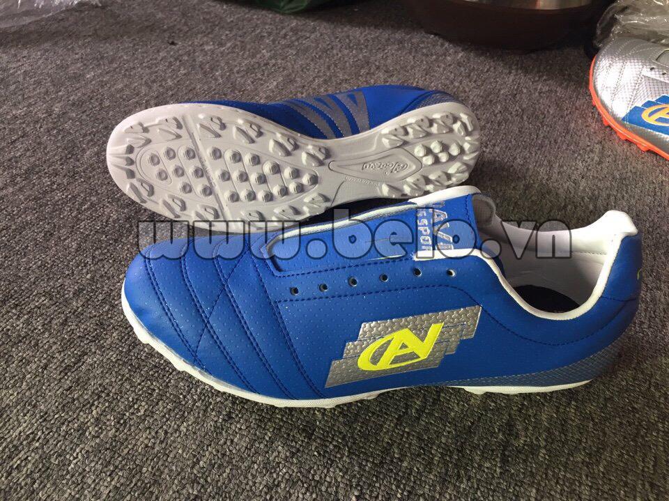 Giày bóng đá Coavu w17 fly wing màu xanh