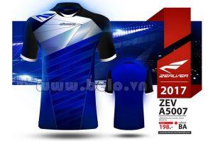 Áo bóng đá Zealver 2017-2018 màu xanh biển