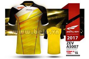 Áo bóng đá Zealver 2017-2018 màu vàng