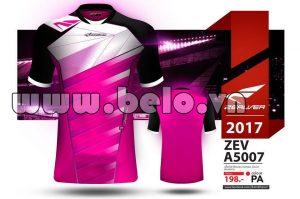 Áo bóng đá Zealver 2017-2018 màu hồng