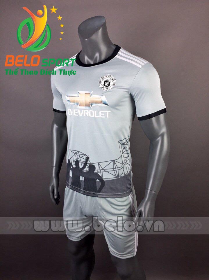 Áo bóng đá CLB manchester 2017-2018 màu trắng