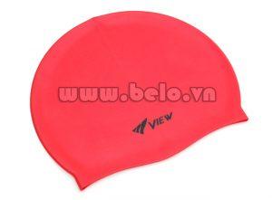 Mũ bơi chính hãng speedo màu đỏ MB06