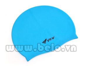 Mũ bơi chính hãng view màu xanh MB03