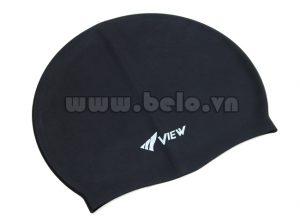 Mũ bơi chính hãng view màu đen MB07