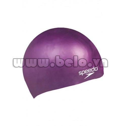 Mũ bơi chính hãng speedo màu tím MB14