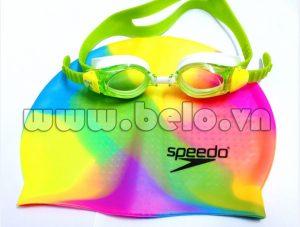 Mũ bơi chính hãng speedo màu sắc màu MB16