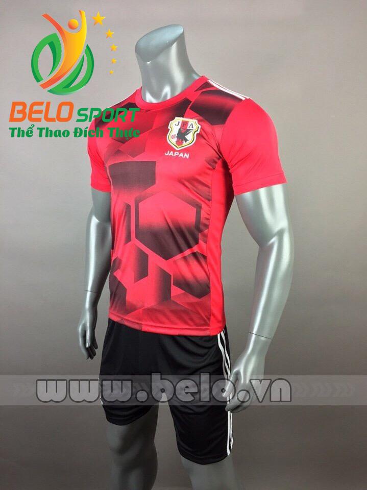Áo bóng đá đội tuyển Nhật Bản 2017-2018 màu đỏ