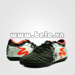 Giày bóng đá MITRE B0804 màu bạc đen chính hãng