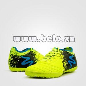 Giày bóng đá MITRE B0804 màu xanh chuối pha đen chính hãng